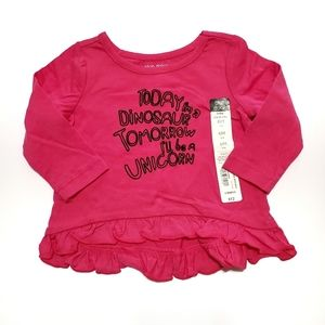 Okie Dokie Baby Girl's Shirt